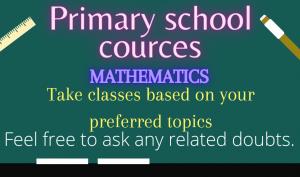 Maths for primary school children