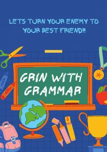 GRIN WITH GRAMMAR